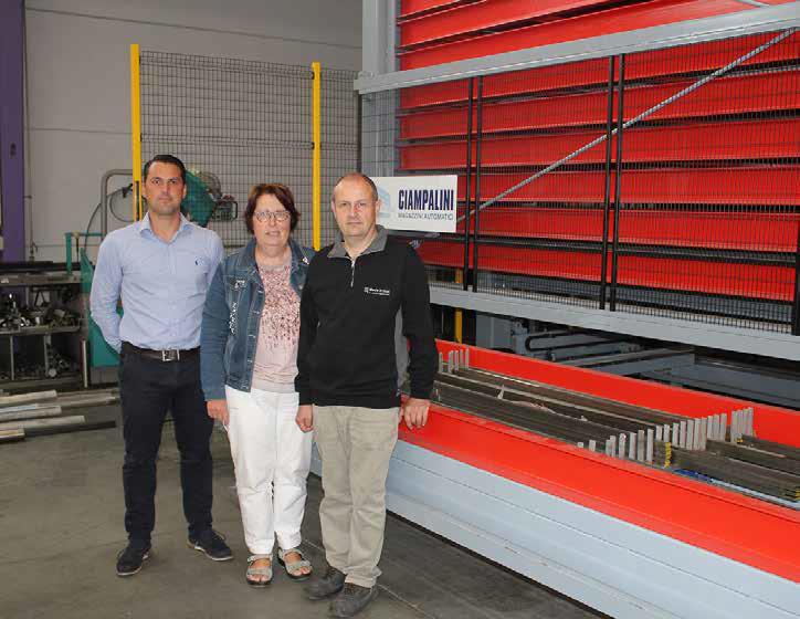 Automatisch magazijn verhoogt werkplezier bij Inox-verwerker