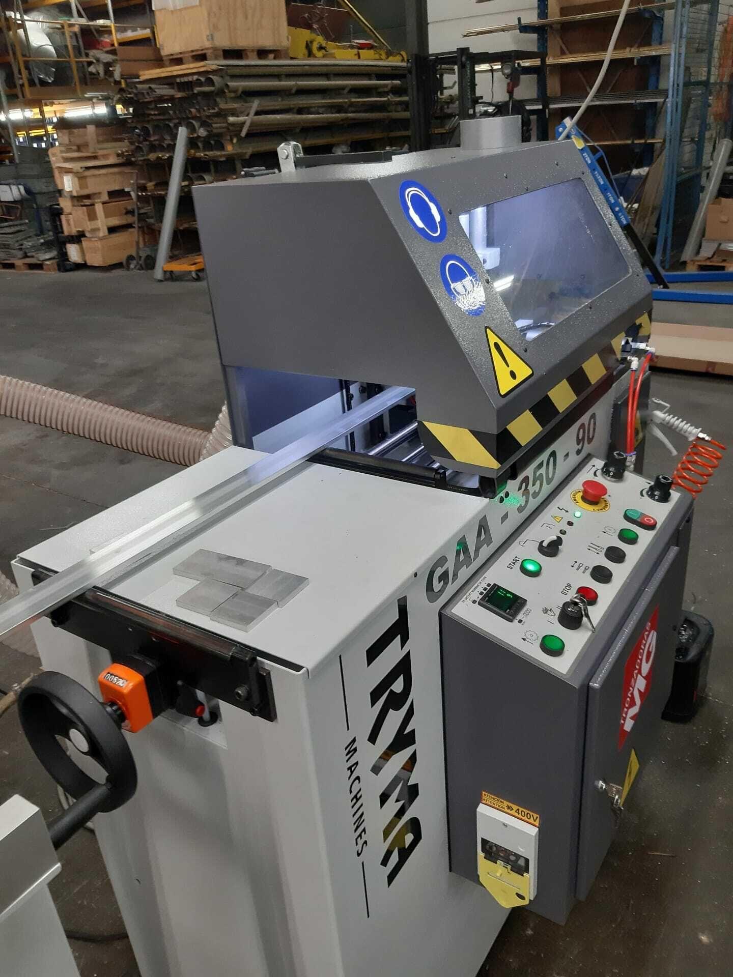 Zaagautomaat voor aluminium en messing beslagonderdelen