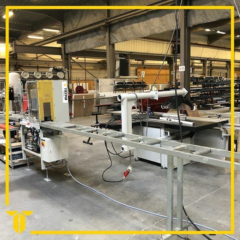 Nieuwe inrolmachine voor Veranda producent Veranco