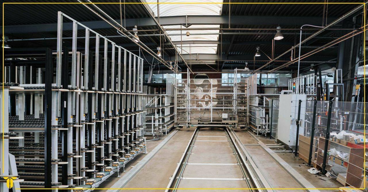 Verdeelwagen en buffersysteem Bruynseels-Vochten