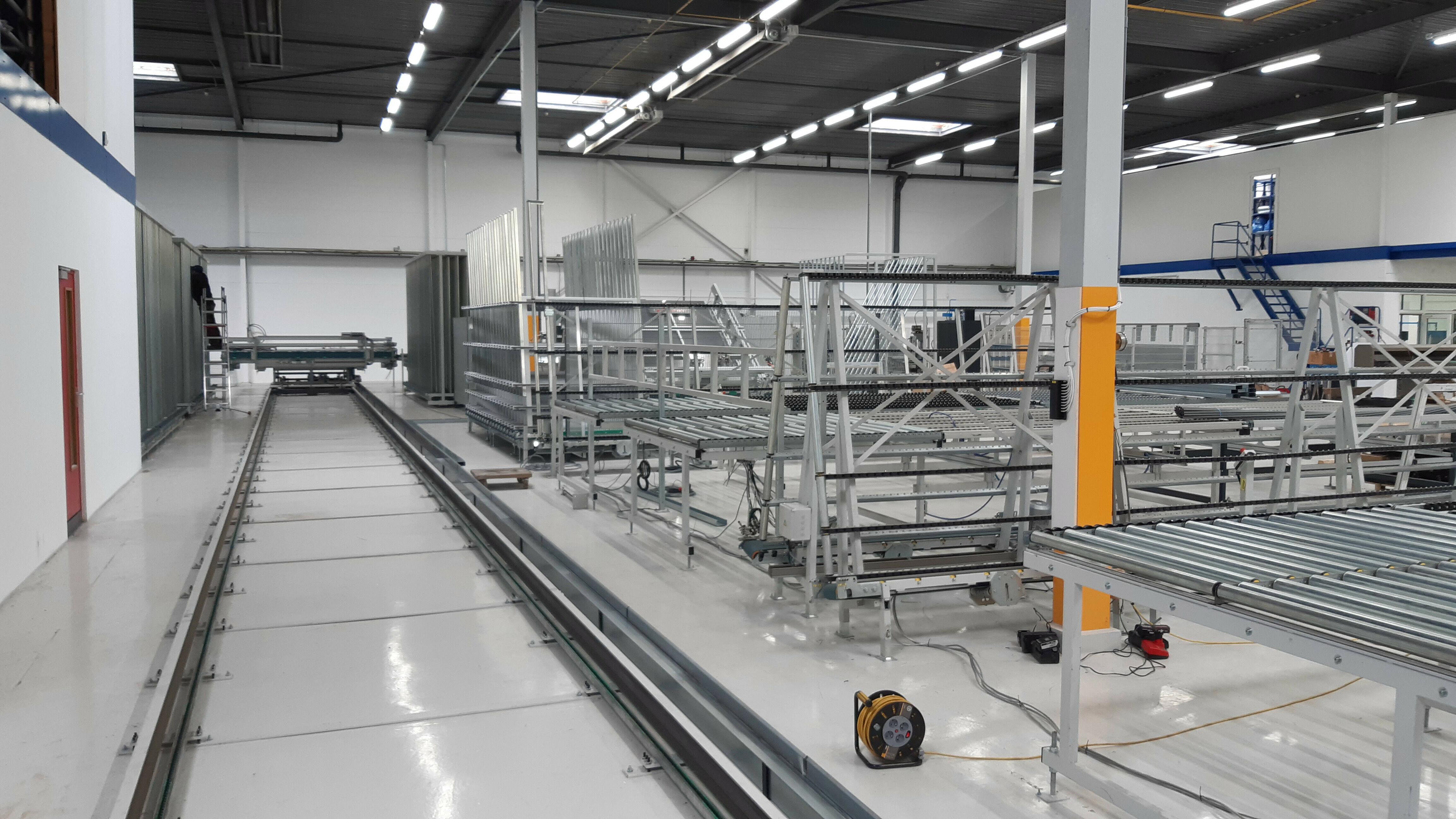Opbouw van buffersysteem bij Kufa